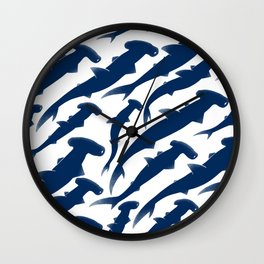 Hammerhead Shark Exodus Wall Clock