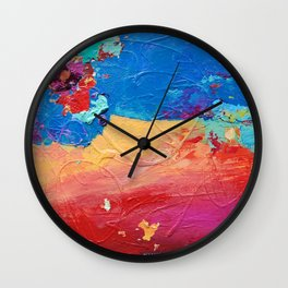 Change by Nadia J Art Wall Clock
