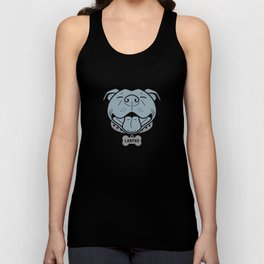 LARPBO Bully Head Unisex Tank Top