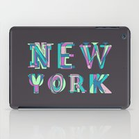 nyc iPad Cases featuring NYC by Fimbis