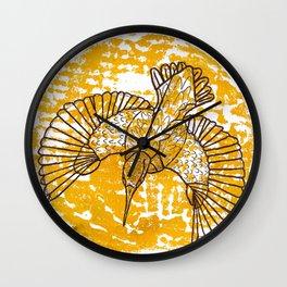 Martin-Pêcheur Wall Clock