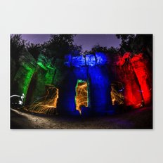 The Old LA ZOO is on FIRE Canvas Print