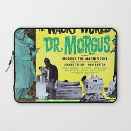 The Wacky World of Dr. Morgus Laptop Sleeve