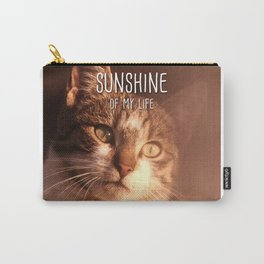 Cat - Sunshine of my life Carry-All Pouch