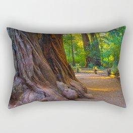 Coastal Redwood Giant, Big Basin Redwoods State Park Rectangular Pillow