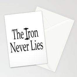 The Iron Never Lies Shirt, Workout Clothes, Gym Shirt, Womens, Mens, Tshirts, DAM Creative, Stationery Cards