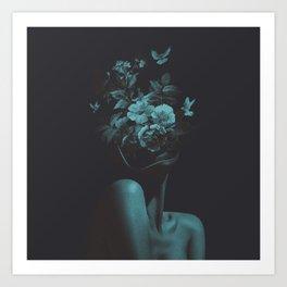 Dead Flowers (Recolor) Art Print
