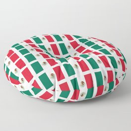 Flag of mexico 2- mexico,mexico city,mexicano,mexicana,latine,peso,spain,Guadalajara,Monterrey Floor Pillow