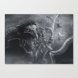 Bonemancer Canvas Print
