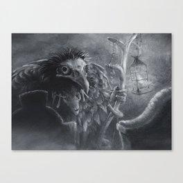 Bonemancer Canvas Print