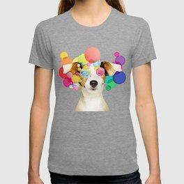 Jack Russell Pop Art T-shirt