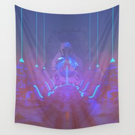 Lost Astronaut Series #05 - Star Harvester Wall Tapestry