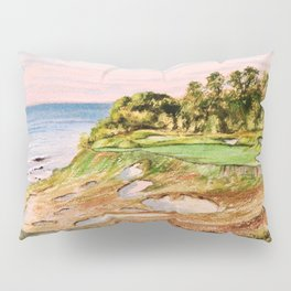 Whistling Straits Golf Course 17th hole Pillow Sham