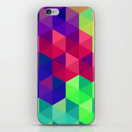 Hexagons 2 iPhone Skin