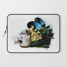 AiVee portrait   Collage Laptop Sleeve