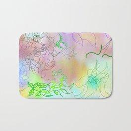 abstract composition Bath Mat