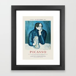 Picasso - Exhibition poster Framed Art Print