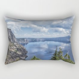Crater Lake from the North Rim, No. 2 Rectangular Pillow