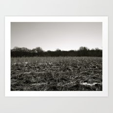 Empty Space in Kalamazoo, MI Art Print