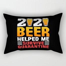 2020 Beer Rectangular Pillow
