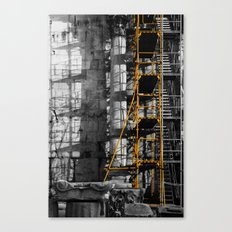 Ancient scaffold Canvas Print