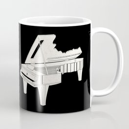 Music Is The Key. Coffee Mug