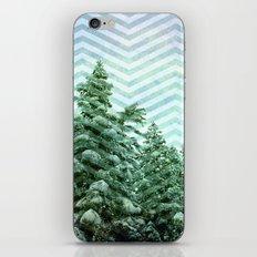 Snowy Chevron iPhone & iPod Skin