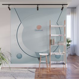 Sega Dreamcast console artwork Wall Mural