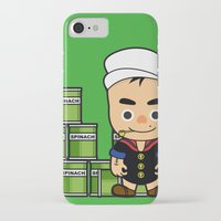 popeye iPhone & iPod Cases featuring Popeye  by Jefferson Ng