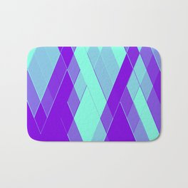 Re-Created Vertices No. 23 by Robert S. Lee Bath Mat