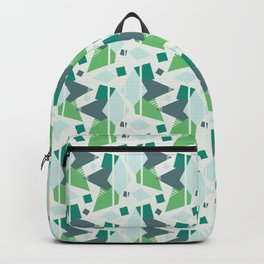 Fragmented Shapes Backpack