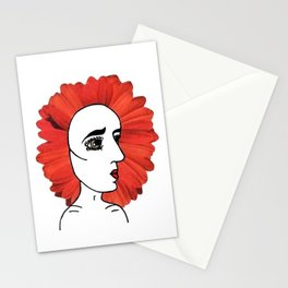 Back Flowering Stationery Cards