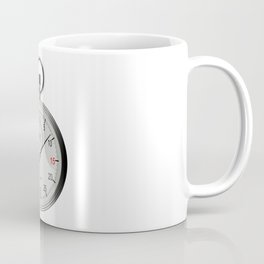 Silver Stop Watch Coffee Mug