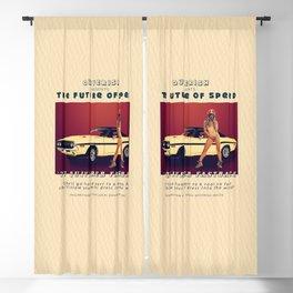 '77 Quiverer Fastback Blackout Curtain