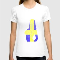 sweden T-shirts featuring We love Sweden by hannes cmarits (hannes61)