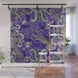 The Kraken (Purple, Square, Alt) Wall Mural