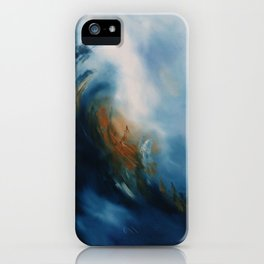 Above the storm iPhone Case