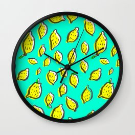 Limones Wall Clock