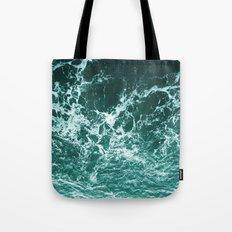 Upside Down Sea Water Splash Tote Bag