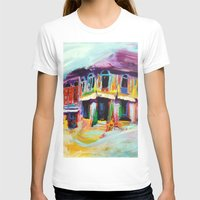 singapore T-shirts featuring Club Street, Singapore by Kasia Pawlak