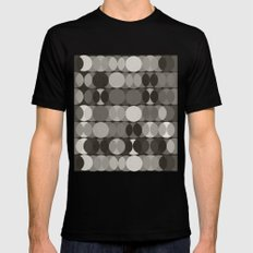 Grisailles Black Mens Fitted Tee MEDIUM