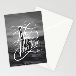 Live the Adventure Stationery Cards