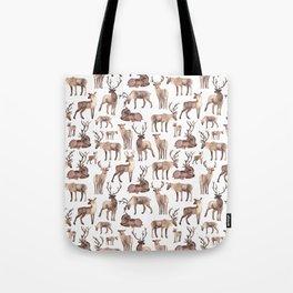 Christmas Reindeer.  Tote Bag