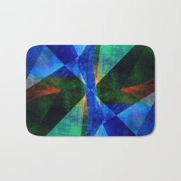 Geometric Design ############## Bath Mat