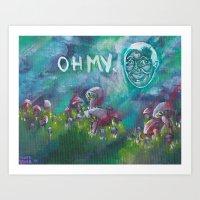 Oh my in the Sky. Art Print