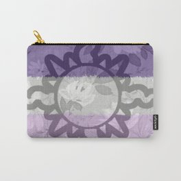 Light Aspect Lesbian Floral Carry-All Pouch