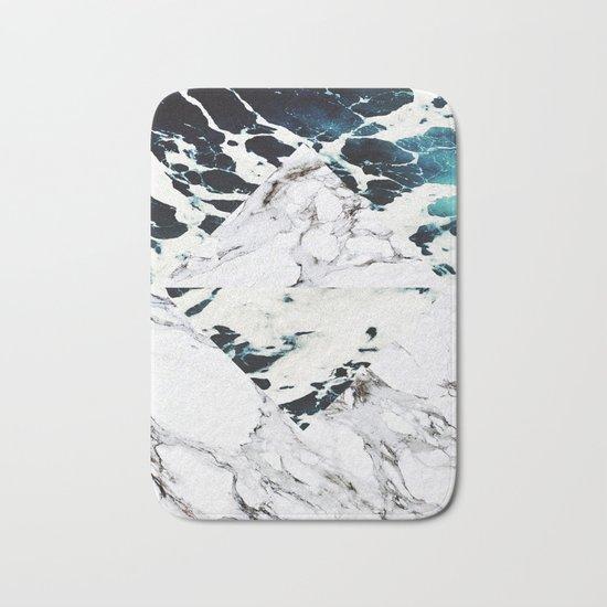 Ocean + Marble Bath Mat