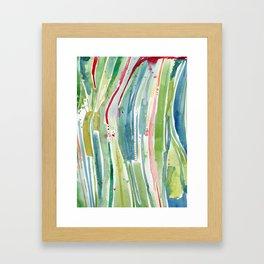 Something Happened in the Kelp Forest Framed Art Print