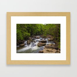 Glade Creek Framed Art Print