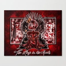 The King in the North Canvas Print